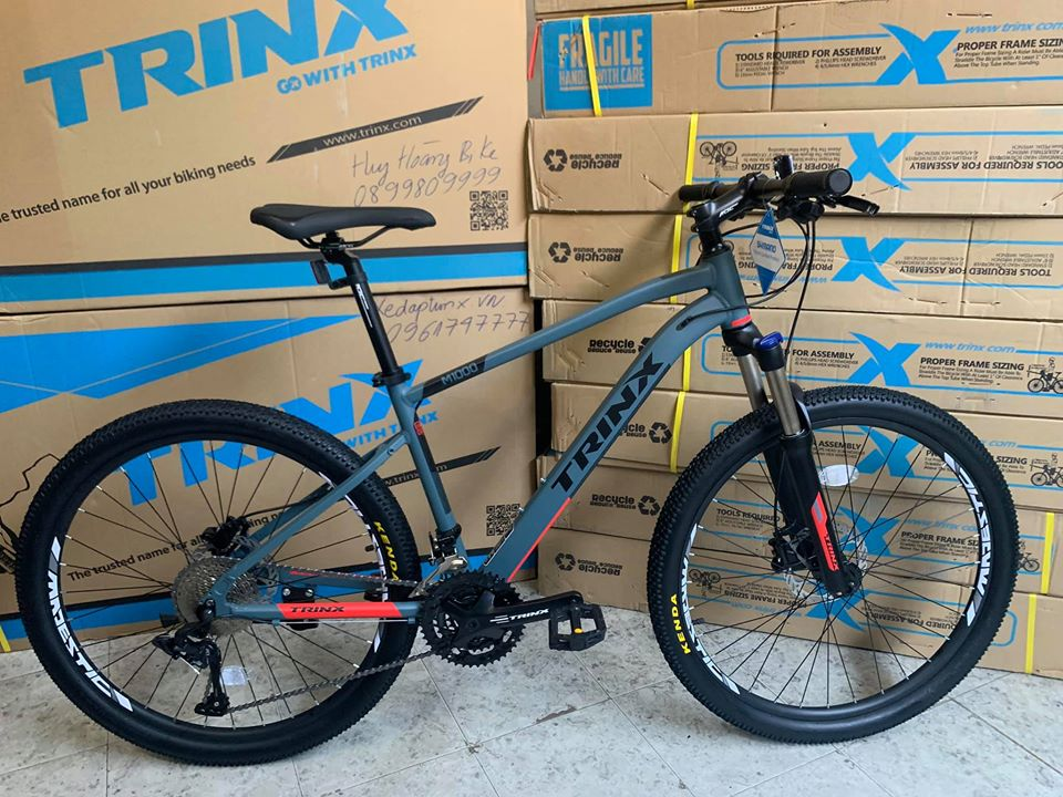 Trinx M1000 Grey Black Red 30speed