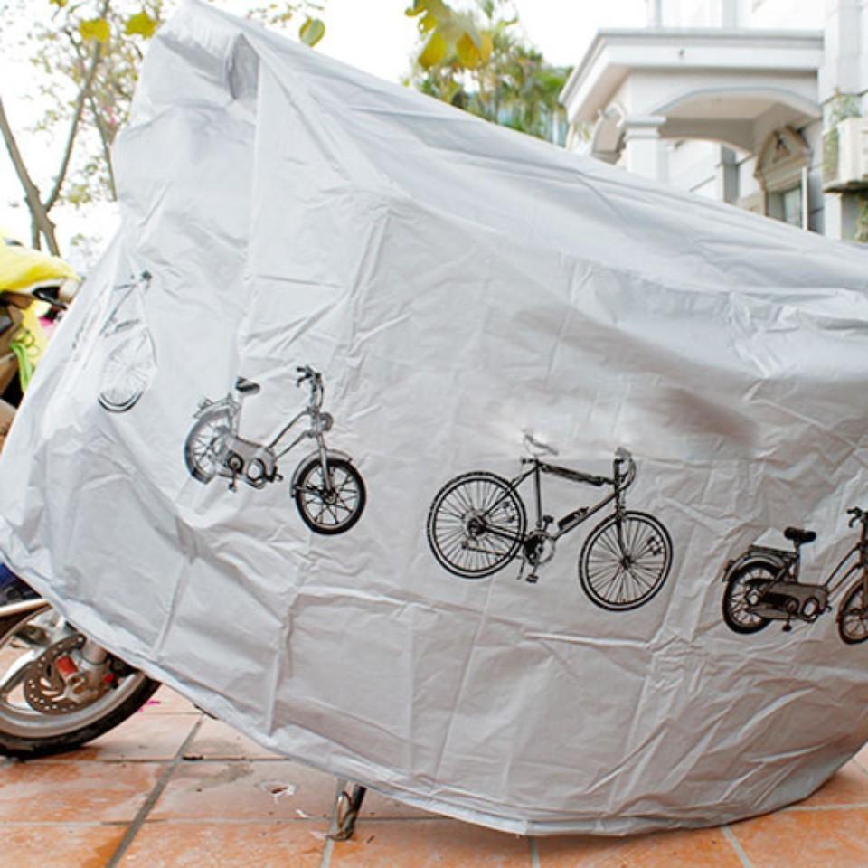 Áo phủ xe đạp và xe máy