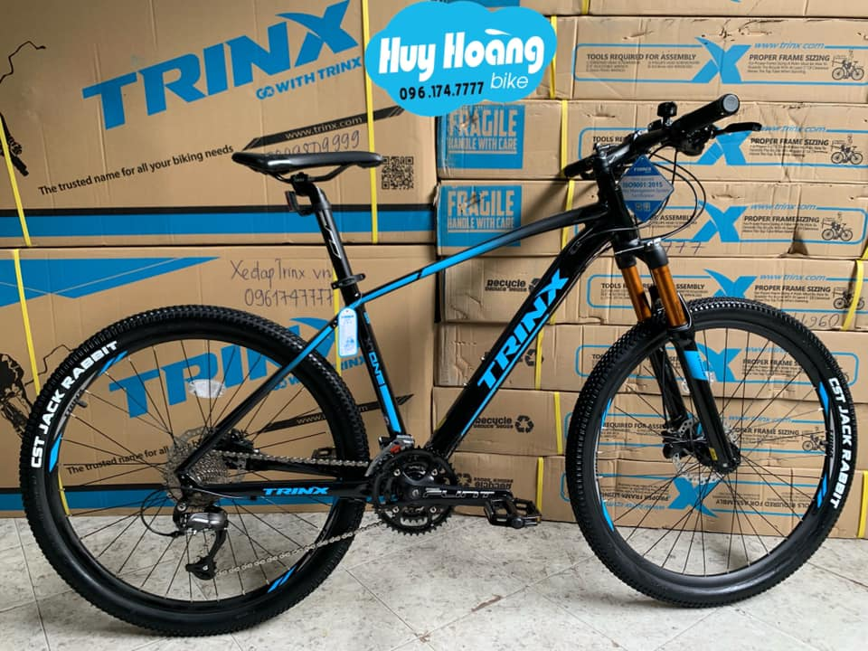 Trinx X1 Matt Black Blue  2021