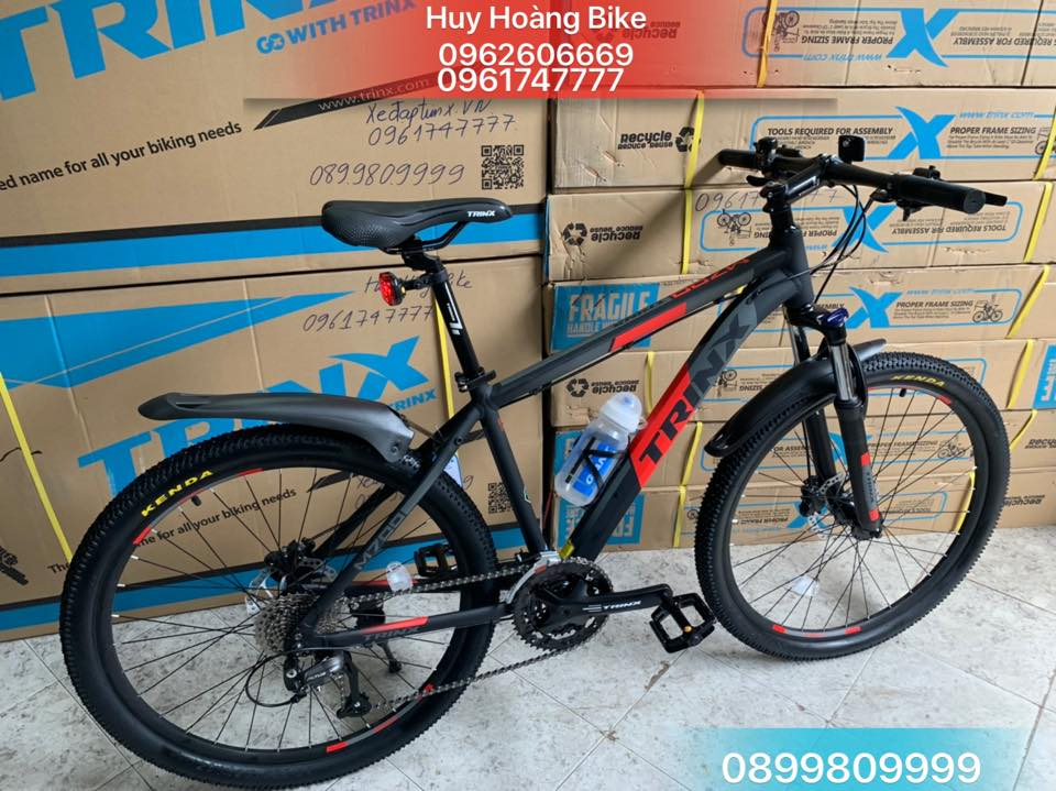 Trinx M700  BLack Gray Red 2021