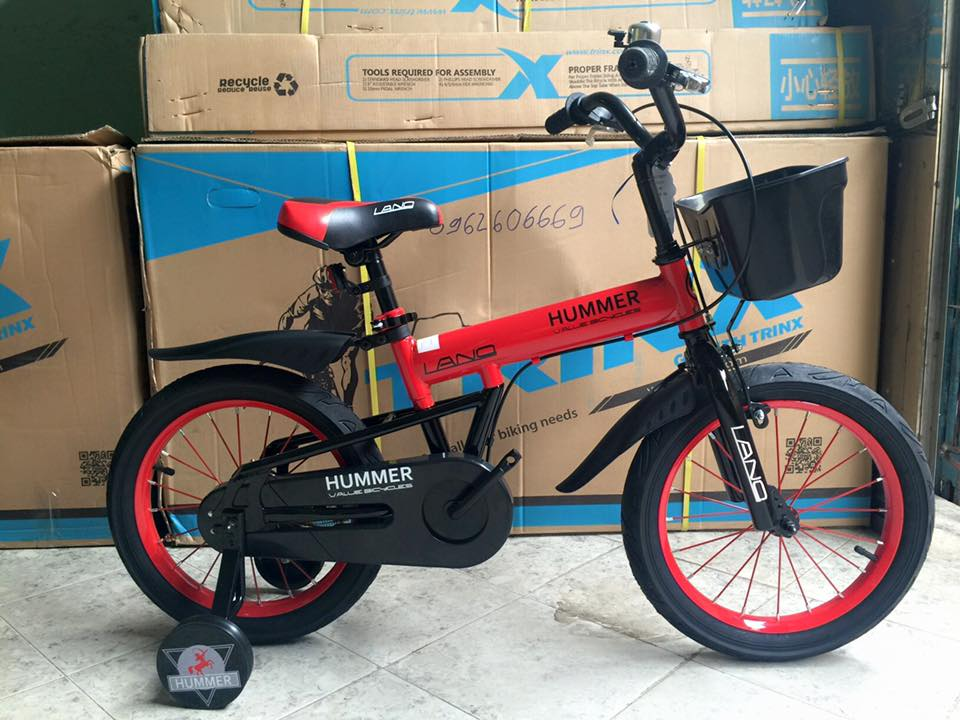 Xe đạp HUMMER (4-8 tuổi)