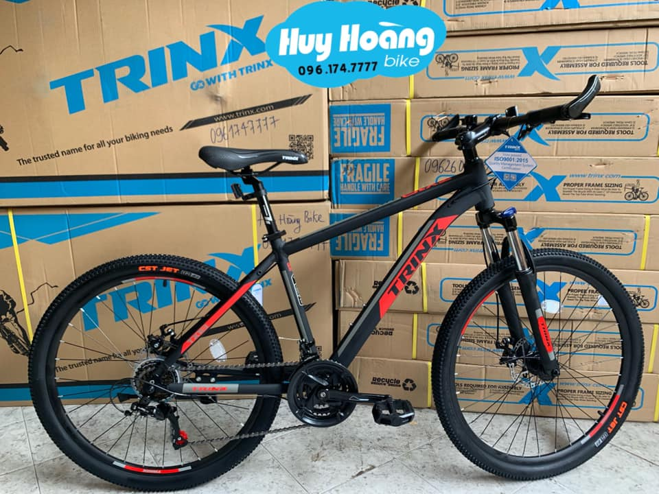 Trinx TX18 Matt Black Red
